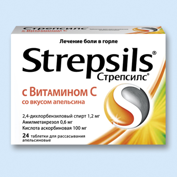 фото упаковки стрепсилс