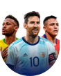 Кубок Америки по футболу: Live