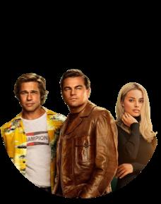 «Однажды в… Голливуде»: Лео ДиКаприо и Брэд Питт в режиссуре Тарантино